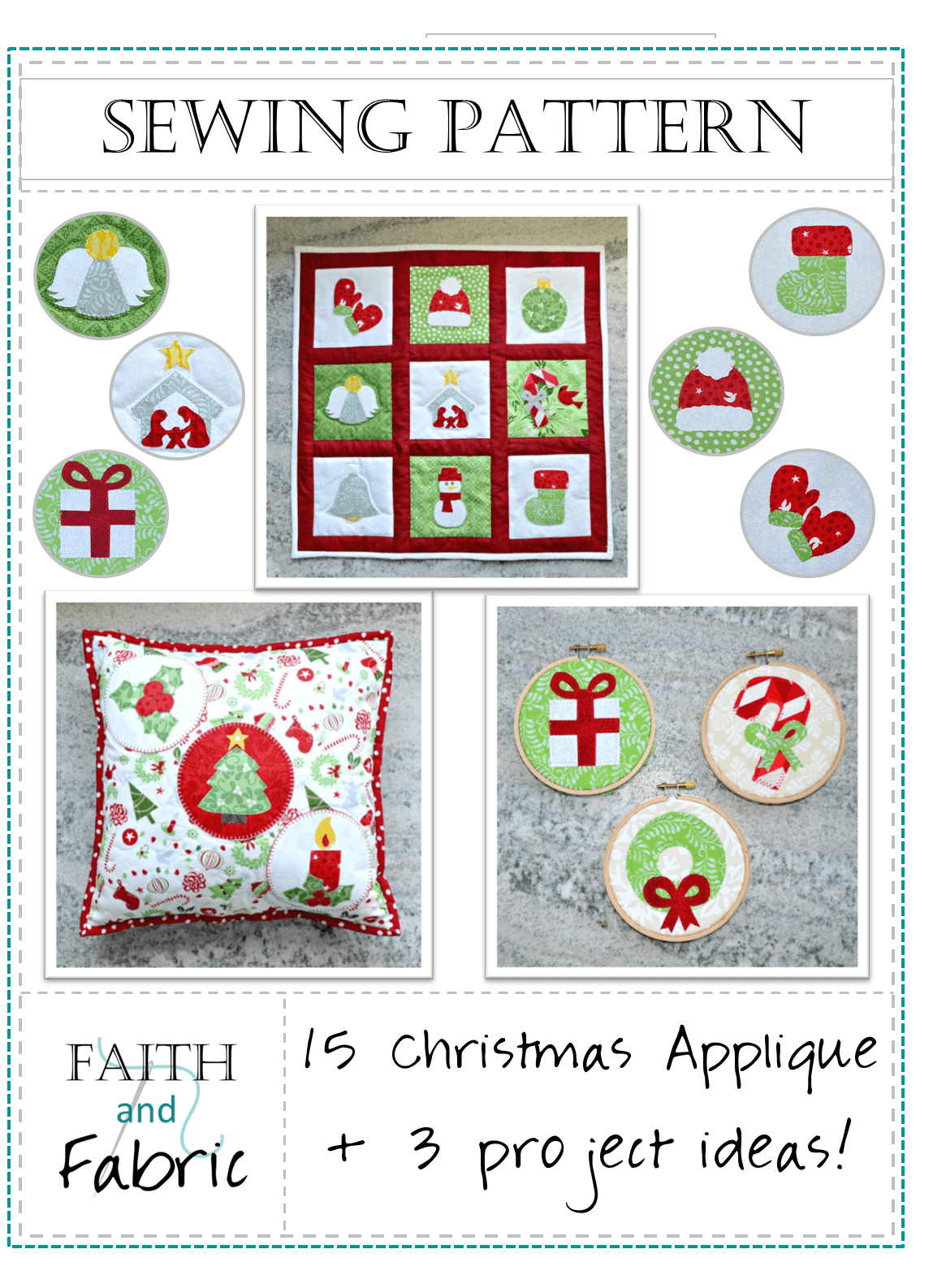 Quilt Pattern Christmas And Winter Applique Gift Ideas Peter S