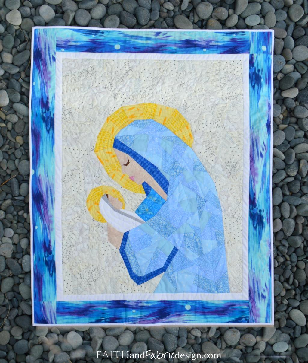 Mary And Jesus A Mother And Child Christian Nativity